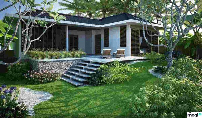 Một căn nhà đẹp theo phong thủy