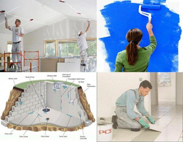 Sửa chữa nhà ở trọn gói chuyên nghiệp