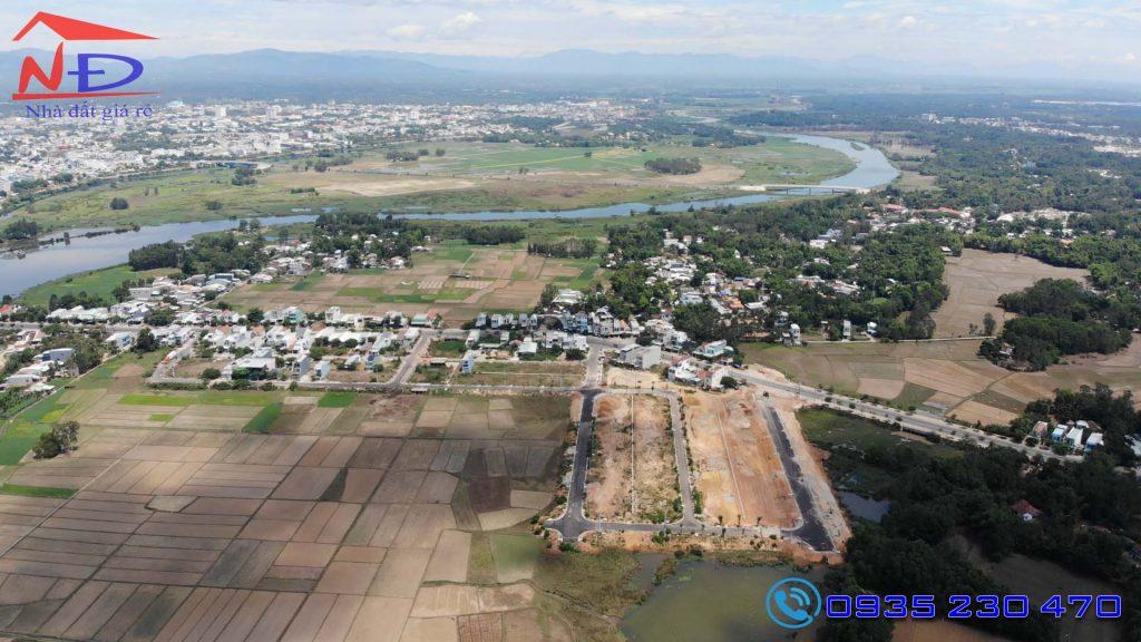 khu dân cư cầu kỳ phú 1,2 ven sông gần trung tâm thành phố tam kỳ
