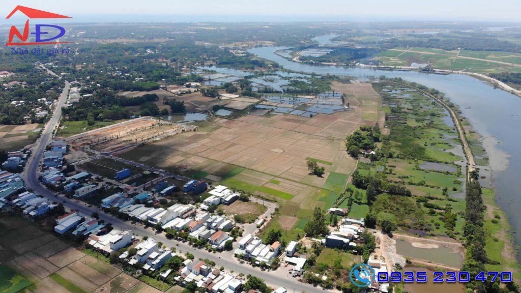 mua bán đất cầu 1,2 an phú ven sông view đồng ruộng thành phố tam kỳ